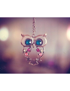 "Pendant ""Owl with stones"""