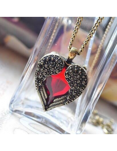 "Pendant ""Flushed heart"""