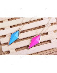 "Necklace ""Glossy rhombus"""