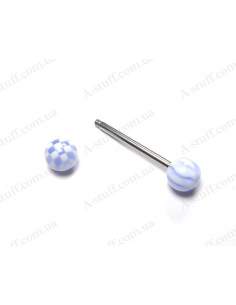 UV piercing stud 25