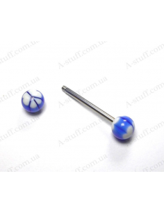 UV piercing stud 26