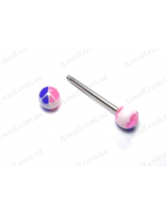 UV piercing stud 27