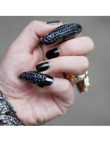 """Ring on nail """"Burlesque"""""""