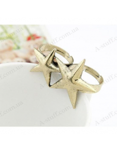 "Double ring ""Starfish"""