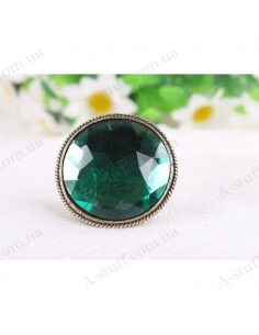 "Large ring ""Green Fairy"""