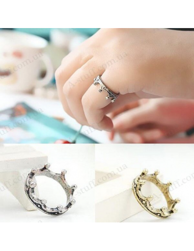 "Ring ""Vintage crown"""