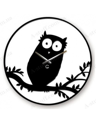 "Wall clock ""Owl"""