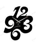 """Wall clock """"Numbers"""""""