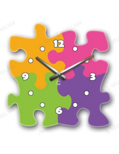 "Original wall clock ""Puzzle"""