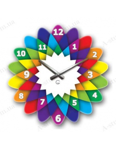 "Original wall clock ""Kaleidoscope"""