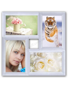 "Multiframe for 4 photo ""Classic 4"", white"