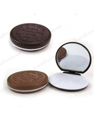 "Mirror with Comb ""Cookies"""