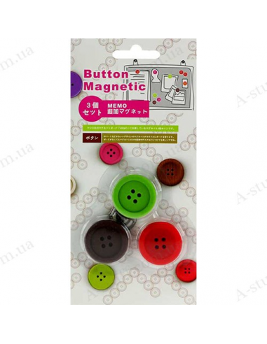 "Refrigerator magnets ""Buttons"""
