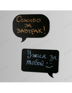 """Magnetic chalk board """"Chat"""""""