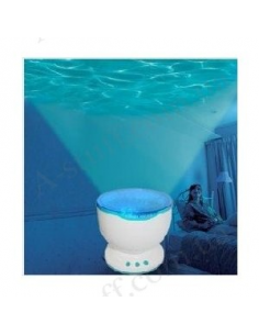 Nightlight - ocean waves projector