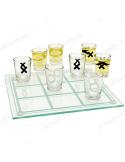 "Алкогольна гра ""Хрестики нулики"" (20х20 см, 30 мл)"