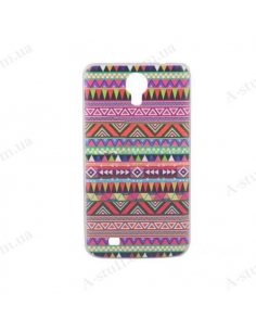 "Case for Samsung Galaxy Mega 6.3 I9200 with ""tribal"" print"