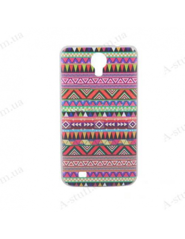 """Case for Samsung Galaxy Mega 6.3 I9200 with """"tribal"""" print"""