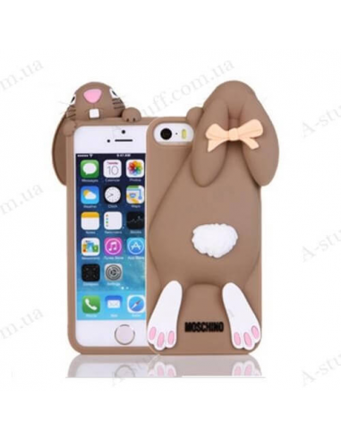 Silicone Case for iPhone Bunny Moschino