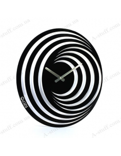 "Metal wall clock ""Hypnosis"""