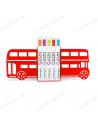 """Тримачі для книг """"Bus"""""""