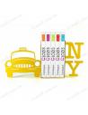 """Тримачі для книг """"""""New York"""""""