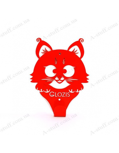 """Wall Hanger """"Kitty Red"""""""