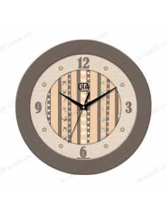 "Wall clock ""I love music"""