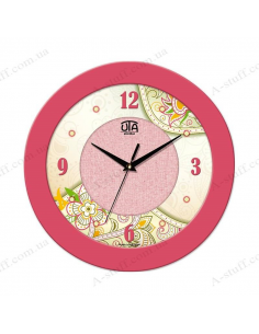 "Wall clock ""Floral motives"""