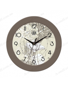 "Wall clock ""Flower 2"""