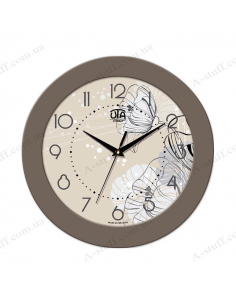 "Wall clock ""Luxury Flower"""