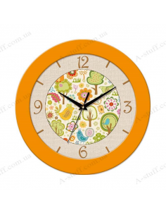 "Wall clock ""Magical forest"""