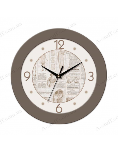 "Wall clock ""Fashionista"""