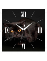 "Wall clock ""Black cat"""