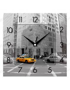 """Настінний годинник """"Таксі"""""""