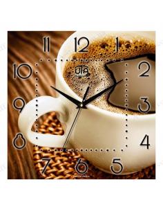 """Настінний годинник """"Горнятко кави"""""""