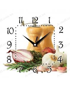 """Настінний годинник """"Спеції"""""""