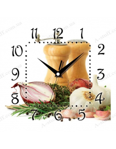 "Wall clock ""Spices"""