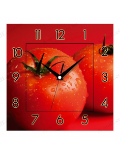 "Wall clock ""Tomatoes"""