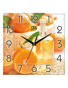 "Wall clock ""Oranges"""