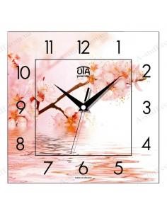 """Настенные часы """"Вишня над водой"""""""