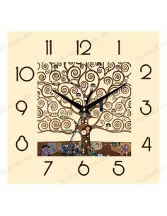 """Wall clock """"Fairy tree"""""""