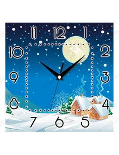"Wall clock ""Winter Night"""
