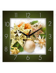 "Wall clock ""New Year mood"""
