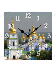 "Wall clock ""St. Michael's Golden-Domed Monastery, Kyiv"""