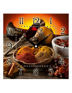 """Wall clock """"Spices"""""""