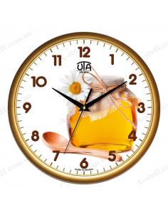 """Настенные часы """"Баночка мёда"""""""