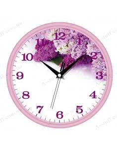 "Wall clock ""Lilac"""