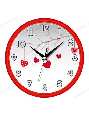 """Настінний годинник """"Лісова романтика"""""""