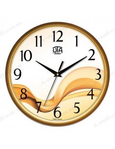"""Wall clock """"Beige Wave"""""""